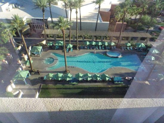 Fantasy Springs Resort Casino : Pool view