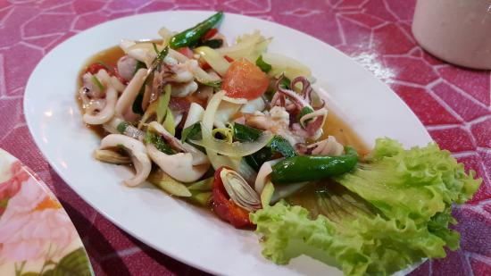 Merang, Malezja: Sea Food Salad