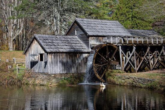 Cana, VA: Mabry Mill