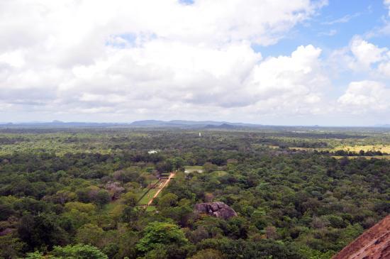 Citadel of Sigiriya - Lion Rock: breathtaking views