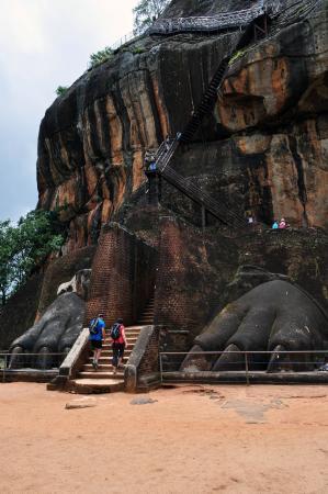 Citadel of Sigiriya - Lion Rock: Lion's Gate