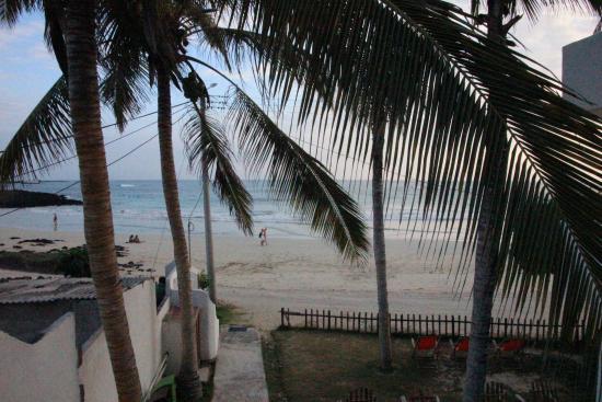 La Casita de la Playa: Blick auf den Strand