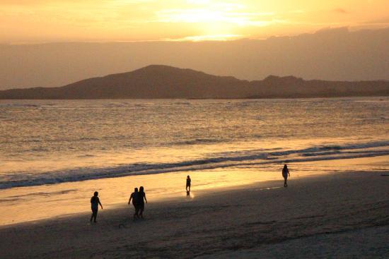 La Casita de la Playa: Abendstimmung