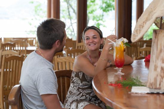 Cerf Island, Seychelles: Cocktail at Poolbar
