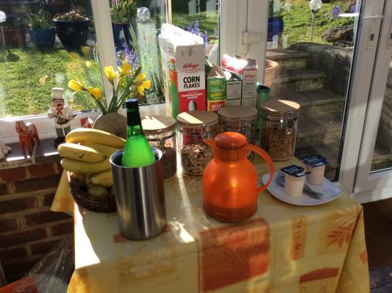 Bishopstone, UK: That's your bit, we cook!