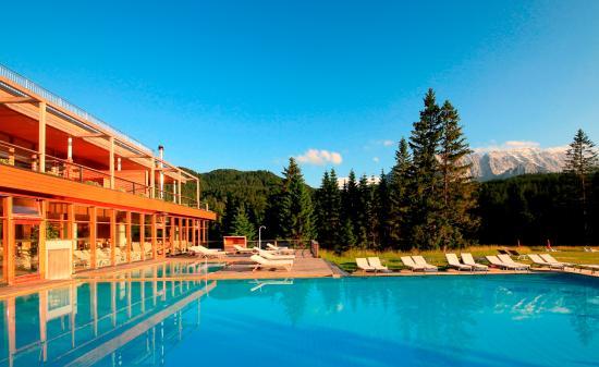 Hotel das Kranzbach: Aussenpool