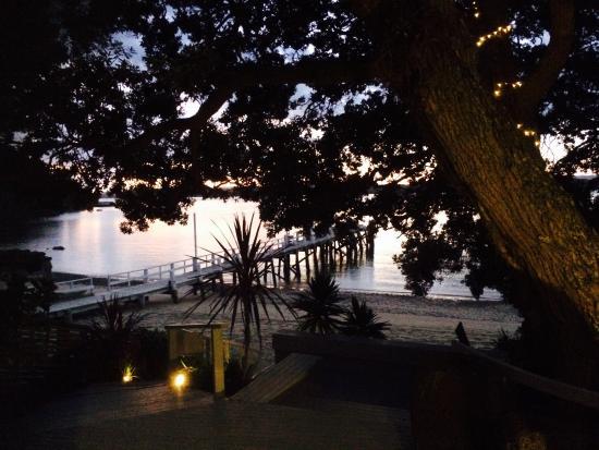The Beach House : Autumn Sunset