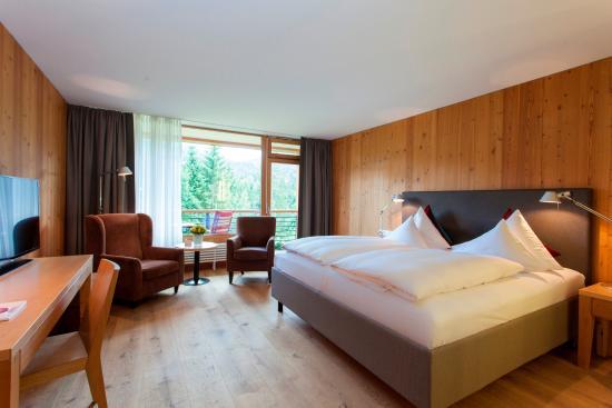 Hotel das Kranzbach: Doppelzimmer Gartenflügel