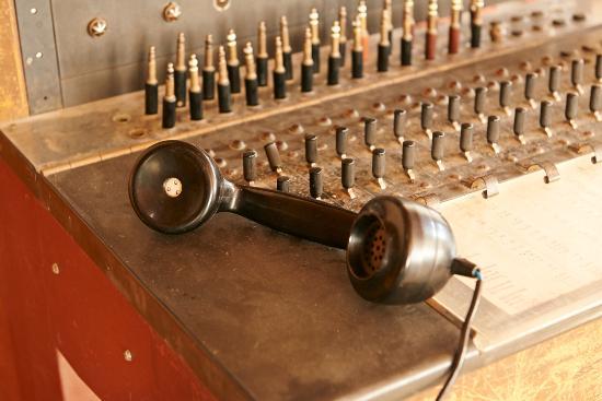 Stanley, Australia: Telephone Exchange