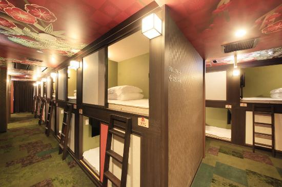 Spa picture of centurion cabin spa kyoto kyoto for Cabin hotel tokyo