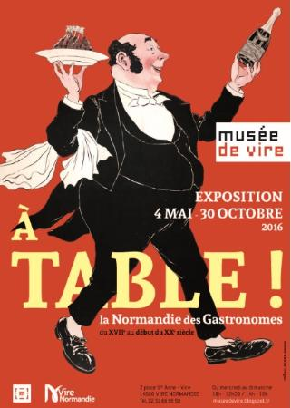 Vire, Francia: Exposition 2016