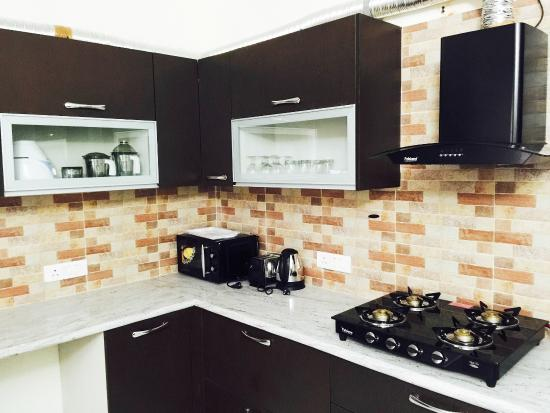 Olive Service Apartments Gurgaon Fully Loaded Private Kitchens In All