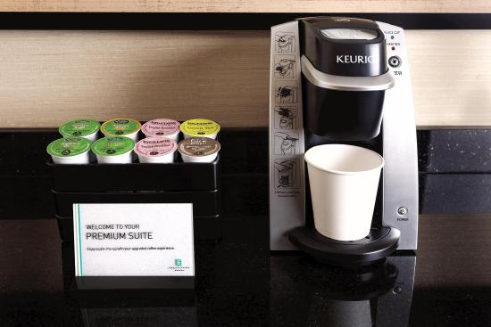 Charleston, Virginia Barat: Embassy Suites Keurig