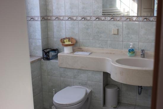 Wellnesshotel Jagdhaus: Doppelzimmer Bad