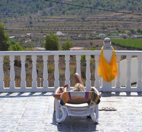 La Romana, España: Enjoying the sun