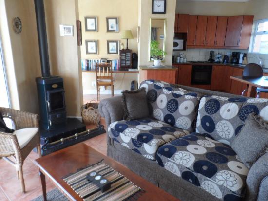 Gordon's Bay, África do Sul: Merlot Suite Lounge