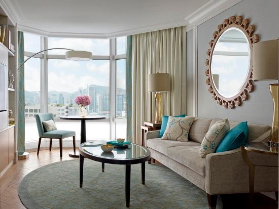 The Langham, Hong Kong: Langham Suite Sitting Room