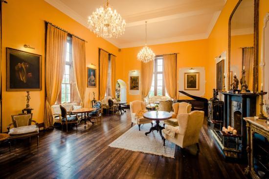 Kinnitty, أيرلندا: The Drawing Room