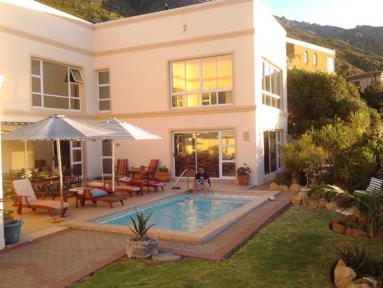 Gordon's Bay, África do Sul: Pool & Patio