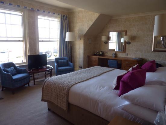 A sea facing room Wentworth Hotel Aldeburgh pic Michael Webb