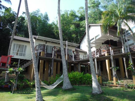 Manukan Island, Malaysia: コテージ外観