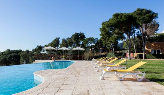 Hotel Blau Mar: piscina al infinito