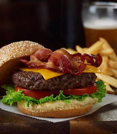 Poughkeepsie, نيويورك: Bistro Burger