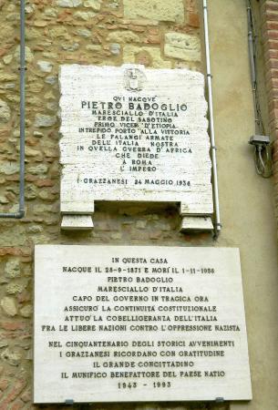 Grazzano Badoglio, إيطاليا: Ingresso