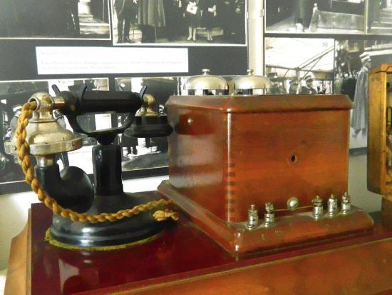 Grazzano Badoglio, إيطاليا: Telefono della prima guerra mondiale usato da Badoglio