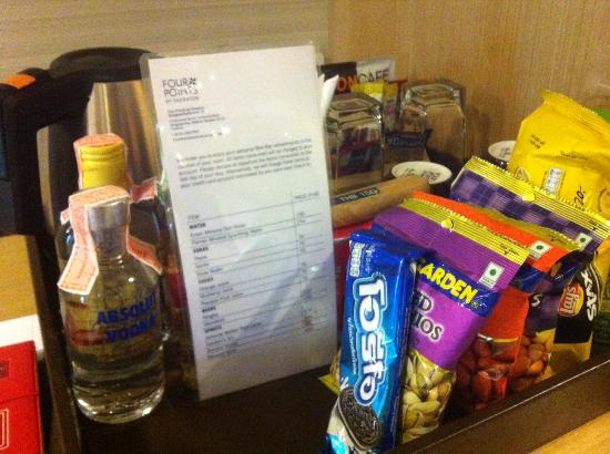 Four Points By Sheraton Bangkok, Sukhumvit 15 : Mini Bar