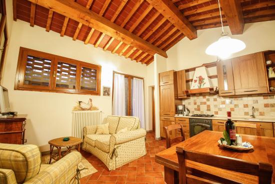 Montespertoli, Italien: Cucina