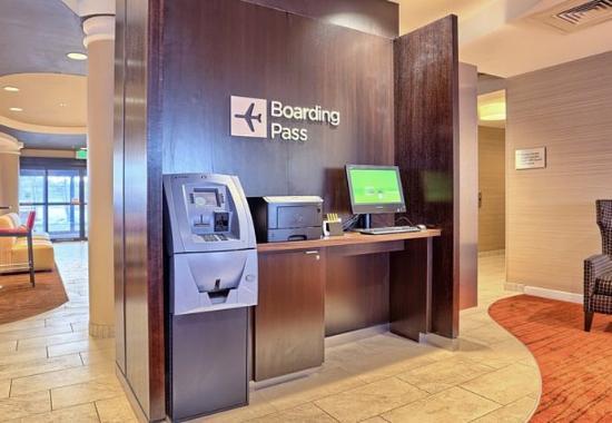 Mechanicsburg, PA: Boarding Pass Kiosk