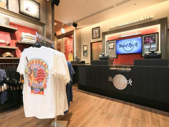 95878691 Rock Shop - Picture of Hard Rock Cafe, Hakata - TripAdvisor