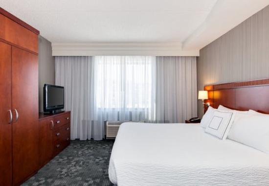 มัลเวิร์น, เพนซิลเวเนีย: King Suite - Sleeping Area