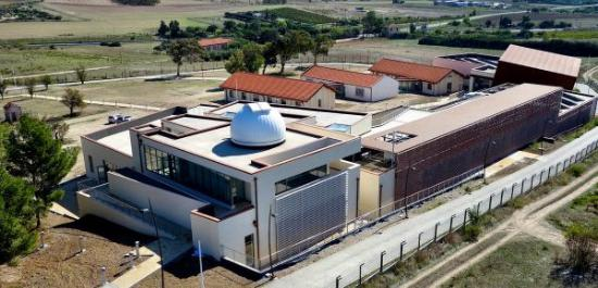 Selargius, إيطاليا: Vista aerea dell'Osservatorio  - Credits G. Alvito