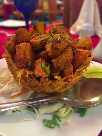 Sagar Restaurant: Aloo Chaat