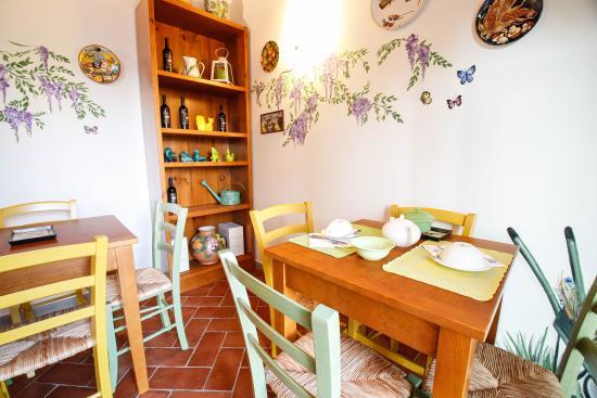 Montespertoli, Italien: Colazione