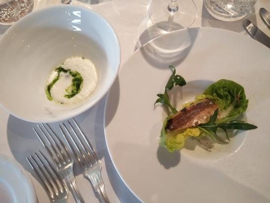 Le Gril aux Herbes: First course