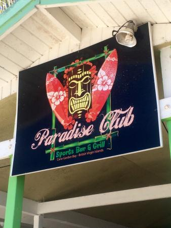 Paradise Club Sports Bar and Grille: Put on your list