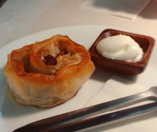 Banitsa de calabaza con yogur búlgaro
