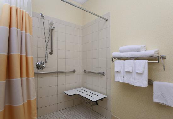 ซาเนสวิลล์, โอไฮโอ: Accessible Guest Bathroom