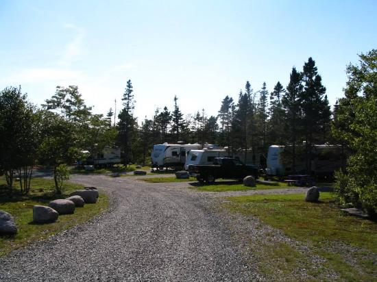 Spry Bay Campground : Great Seasonal sites