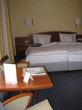 Hotel Oranien: This was the bigger room (we stayed in two kinds of rooms)