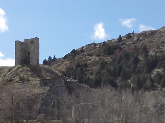 Chateau de Llo et sa chapelle (Rando)