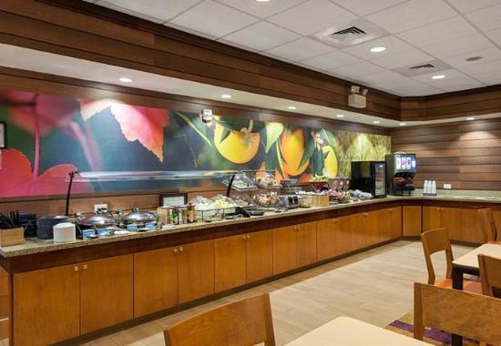 Elizabeth City, Северная Каролина: Breakfast Area