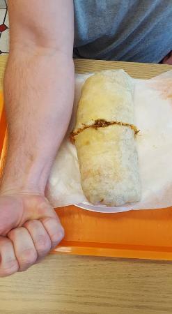 El Taco Loco: Barbacoa Burrito