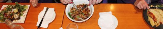 Belmont Tavern: Thai Beef Salad, Stir Fry and Chicken Parmigiana (Daily Special)