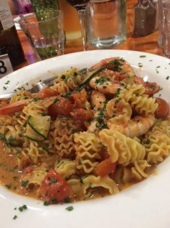 Pinocchio Restaurant: Prawn Fusili