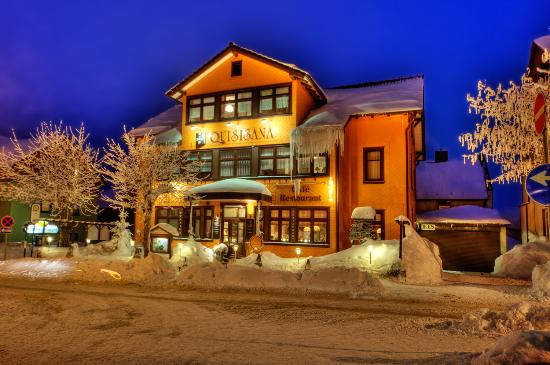 Oberhof, Deutschland: Quisisana im Winter