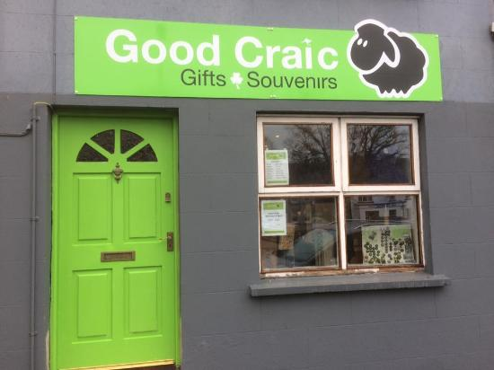 Good Craic Gifts- Opposite the Church of Ireland in Rostrevor